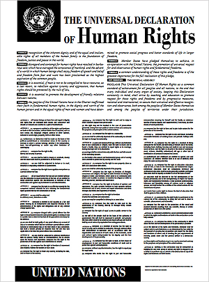 united nations universal declaration of human rights The universal declaration of human rights on december 10, 1948 the general assembly of the united nations adopted and proclaimed the universal declaration of human rights it has been.