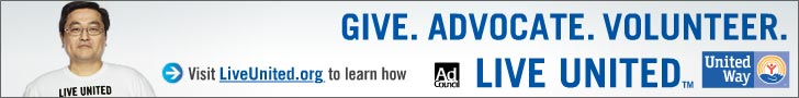 Ad Council - Give. Advocate. Volunteer. Live United.